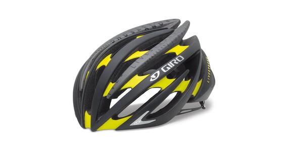 Giro Aeon black/yellow livestrong